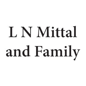 LN Mittal and Family